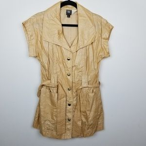 Worth new york trench top